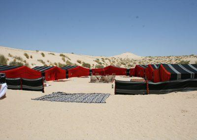 Campement à Nefta