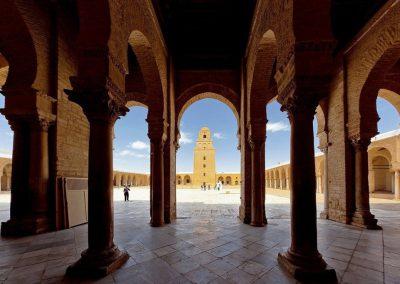 Visite de la mosquée de Kairouan