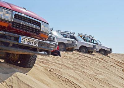Raid 4x4 dans le Sud tunisien